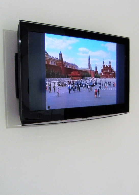 IRWIN - Black Square on Red Square 1